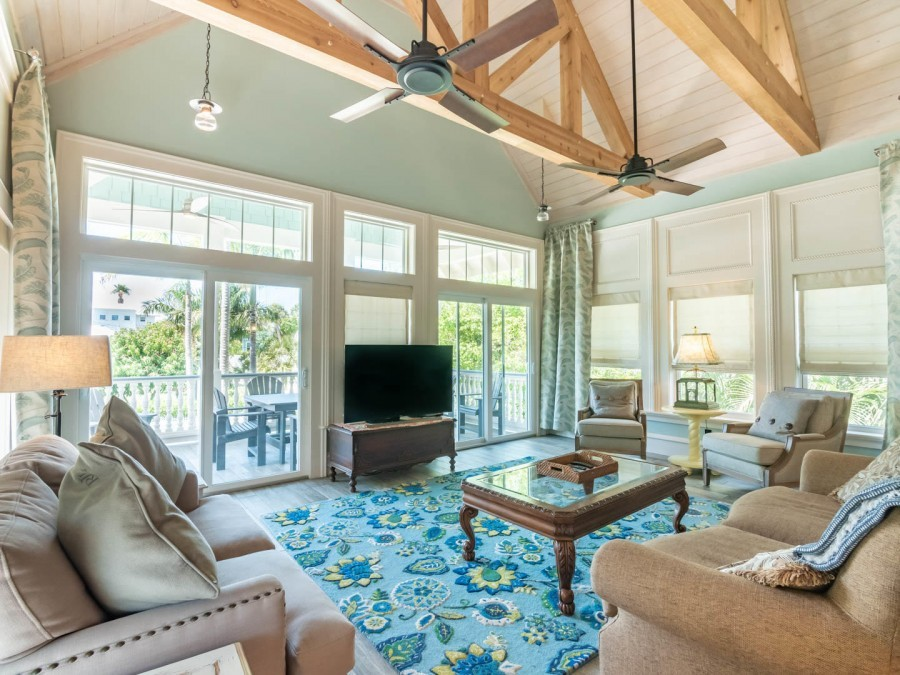 living room of Anna Maria Island rental