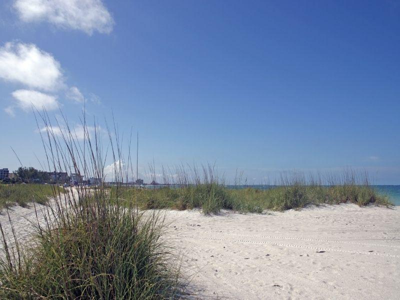 View of Treasure Island Beach