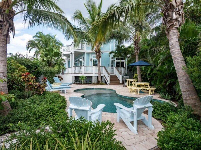 anna maria island rental with a pool