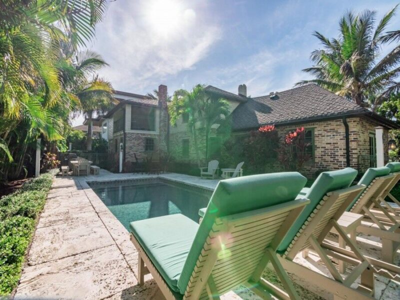 anna maria island vacation rental with a pool