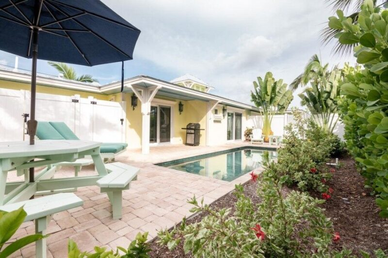 ami vacation rental with a pool