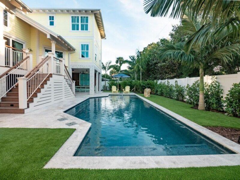 rental on anna maria island with a pool